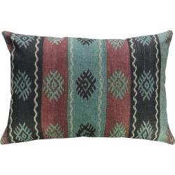 Striped Global Linen Pillow
