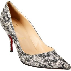 Christian Louboutin Clare 80 Lurex Pump found on Bargain Bro India from Gilt for $579.99