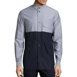 Diesel Black Gold Mixed Media Shirt found on Bargain Bro India from Gilt for $178.55
