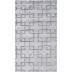 The Rug Market Shimmer Hand-Made Polyester Contemporary Rug
