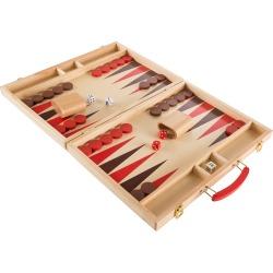 Wooden Backgammon Board Game Set