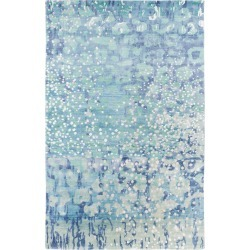 Surya Watercolor Hand Knotted Rug found on Bargain Bro India from Gilt City for $1809.99
