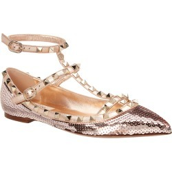 Valentino Rockstud Caged Sequin Ballerina Flat found on Bargain Bro Philippines from Gilt for $555.99
