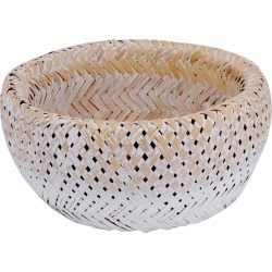 BIDKhome Bamboo Double-Wall Basket/Bowl found on Bargain Bro Philippines from Gilt for $25.99