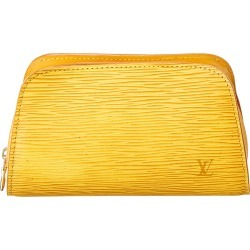 Louis Vuitton Yellow Epi Leather Cosmetic Case found on Bargain Bro Philippines from Ruelala for $400.00
