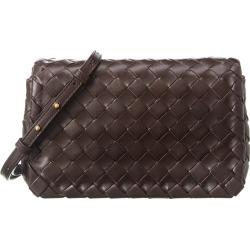 Bottega Veneta Intrecciato Weave Mini Leather Shoulder Bag