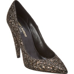 Saint Laurent Era 110 Glitter Pump found on Bargain Bro Philippines from Ruelala for $349.99