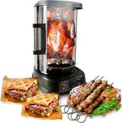 Nutrichef Vertical Rotisserie Oven