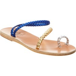 Ancient Greek Sandals Eleftheria Metallic Leather Sandal found on MODAPINS from Ruelala for USD $189.99