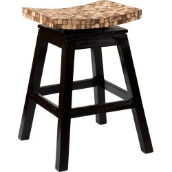 East at Main's Carnation Coconut Shell Counterstool found on Bargain Bro India from Gilt City for $179.99