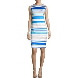 Calvin Klein Stripe Sheath Dress found on Bargain Bro India from Gilt for $35.99