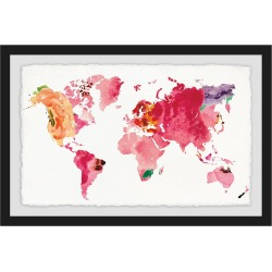 Marmont Hill Floral Map found on Bargain Bro Philippines from Gilt City for $355.99