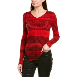 Helmut Lang Ribbed Wool-Blend Sweater found on MODAPINS from Gilt for USD $69.99