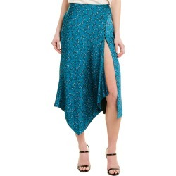 Jonathan Simkhai Handkerchief Silk-Blend Skirt found on MODAPINS from Gilt for USD $105.99