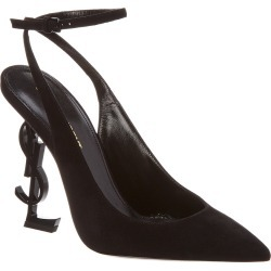 Saint Laurent Opyum 110 Suede Slingback Pump found on Bargain Bro India from Gilt for $699.99