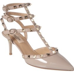 Valentino Rockstud Caged 65 Patent Ankle Strap Pump found on Bargain Bro India from Gilt City for $799.99