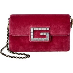 Gucci Square G Velvet Shoulder Bag found on MODAPINS from Ruelala for USD $1079.99