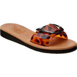 Ancient Greek Sandals Aglaia Slide found on MODAPINS from Gilt for USD $99.99