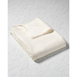 Belle Epoque Cotton Waffle Weave Blanket found on Bargain Bro India from Ruelala for $139.99