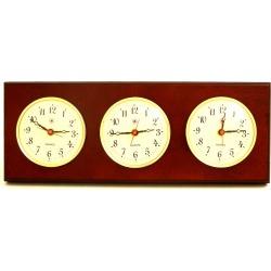 Triple Quartz Clock