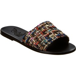 Ancient Greek Sandals Taygete Tweed Leather Sandal found on MODAPINS from Ruelala for USD $179.99