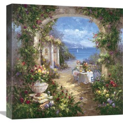 Global Gallery Mediterranean Arches II by Gabriela found on Bargain Bro India from Gilt for $149.99