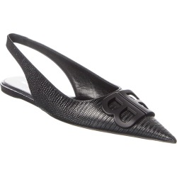 Balenciaga Leather Slingback Flat found on Bargain Bro Philippines from Gilt for $575.99