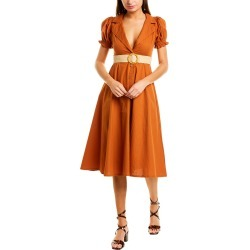 WeWoreWhat Bella Midi Dress found on Bargain Bro India from Ruelala for $109.99