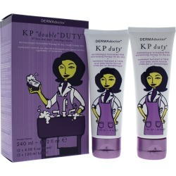 DERMAdoctor 8.2oz 2pc KP Double Duty Dermatologist AHA Moisturizing Therapy