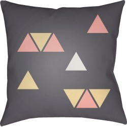 Surya Triangles Decorative Pillow found on Bargain Bro India from Gilt for $39.99