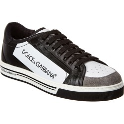 Dolce & Gabbana Roma Coated Canvas & Leather Sneaker found on Bargain Bro Philippines from Ruelala for $335.00