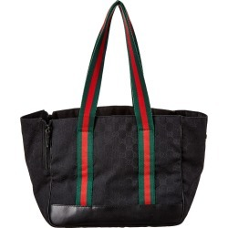 Gucci Black GG Canvas & Leather Pet Carrier found on Bargain Bro Philippines from Gilt for $575.00