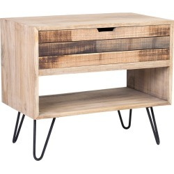East at Main's Ocilla Mindi Wood Accent Table found on Bargain Bro India from Gilt for $294.99