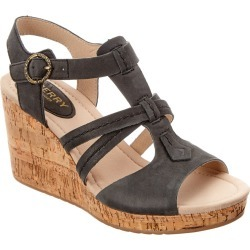 Sperry Women's Dawn Day Leather Wedge Sandal found on Bargain Bro Philippines from Gilt City for $29.99