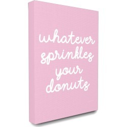 Stupell Industries Whatever Sprinkles Your Donut found on Bargain Bro Philippines from Gilt City for $49.99