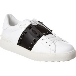 Valentino Rockstud Untitled Open Leather Sneaker found on Bargain Bro India from Ruelala for $629.99