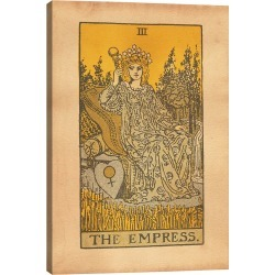 iCanvas The Empress Tarot by Tea Stained Madness Wall Art found on Bargain Bro Philippines from Ruelala for $45.99
