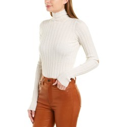 Helmut Lang Rib-Knit Turtleneck Wool Top found on MODAPINS from Gilt for USD $99.99