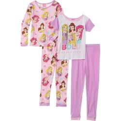 Princess 4pc Pajama Set