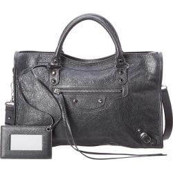 Balenciaga Classic City Medium Leather Shoulder Bag