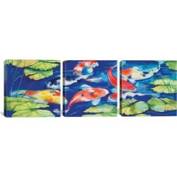 iCanvas Koi by Kathleen Parr McKenna found on Bargain Bro Philippines from Gilt for $229.99