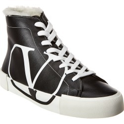 Valentino Leather High-Top Sneaker found on Bargain Bro India from Gilt City for $599.99