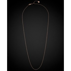 18K Italian Rose Gold Cable Link Necklace found on Bargain Bro Philippines from Gilt for $179.99
