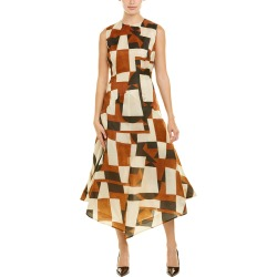 Akris Silk A-Line Dress found on MODAPINS from Ruelala for USD $899.99