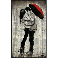 McGaw Graphics Rainfall and Kisses by Loui Jover found on Bargain Bro Philippines from Gilt for $199.99
