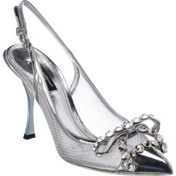 Dolce & Gabbana Mesh & Leather Slingback Pump found on Bargain Bro India from Gilt City for $889.99