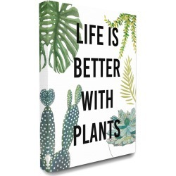Stupell Life Is Better With Plants Illustrations found on Bargain Bro Philippines from Gilt for $49.99