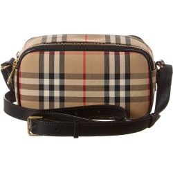 Burberry Mini Vintage Check & Leather Camera Bag found on Bargain Bro India from Gilt for $729.99