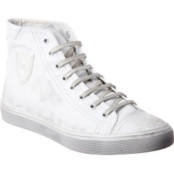 Saint Laurent Bedford High Top Leather Sneaker found on Bargain Bro India from Gilt City for $599.99