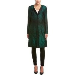 ESCADA Silk & Wool-Blend Coat